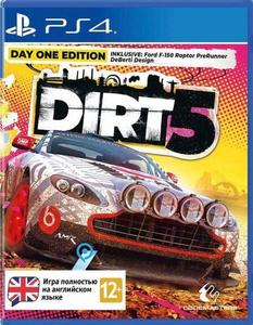Игра для PS4 Dirt 5 Издание первого дня