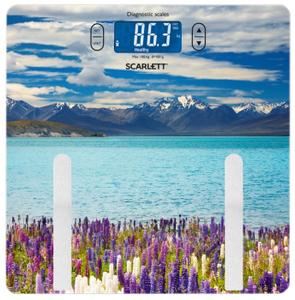 Весы напольные Scarlett SC-BS33ED11 Lake