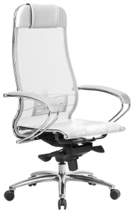Кресло офисное Samurai S-1.04 белый
