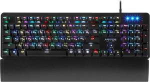 Клавиатура проводная CBR KB 890 Armor черный