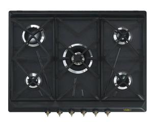 Газовая варочная панель SMEG SRV876AOGH черный