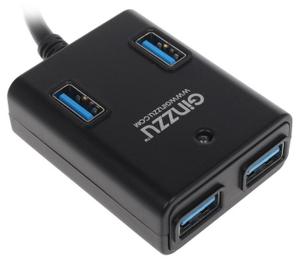 USB хаб Ginzzu [GR-384UAB]