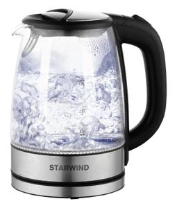 Чайник электрический StarWind SKG5210 серебристый