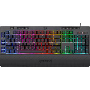 Клавиатура проводная Redragon Shiva K512RGB черный