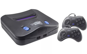 Игровая приставка SEGA Retro Genesis Modern Wireless + 170 игр + 2 джойстика