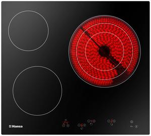 Электрическая варочная поверхность Hansa BHC66216 черный