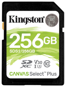 Карта памяти Kingston SDS2/256GB 256 Гб