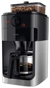 Кофеварка капельная Philips HD7767 Grind & Brew черный