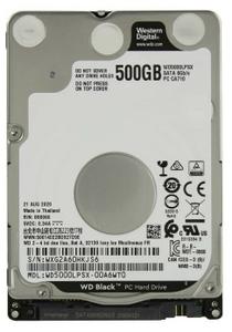 Жесткий диск Western Digital [WD5000LPSX] Black 500 ГБ
