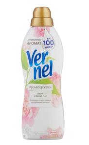 Кондиционер для белья Арома Пион и Белый чай 910мл Vernel