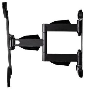 "Кронштейн для телевизора Hama Fullmotion H-118620 черный 37""-65"" макс.35кг настенный поворот и наклон"