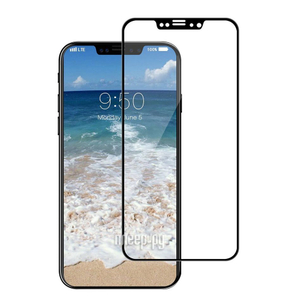 Ainy Защитное стекло (0,2мм) Apple iPhone XR Full Screen Cover (5D) черное