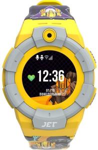 Детские умные часы Jet KID Transformers желтый