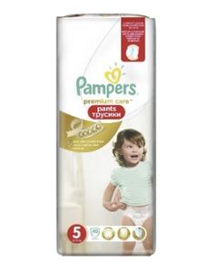 Подгузники-трусики Premium Care Pants Junior (12-18 кг) Упаковка 40 PAMPERS