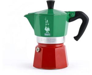 Гейзерная кофеварка Bialetti Moka Express Tricolore