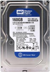 Жесткий диск Western Digital Caviar Blue [WD1600AAJB] 160 Гб