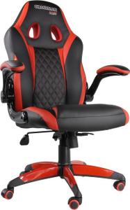 Офисное кресло Chairman game 15 экопремиум чёрный/красный <7022777>