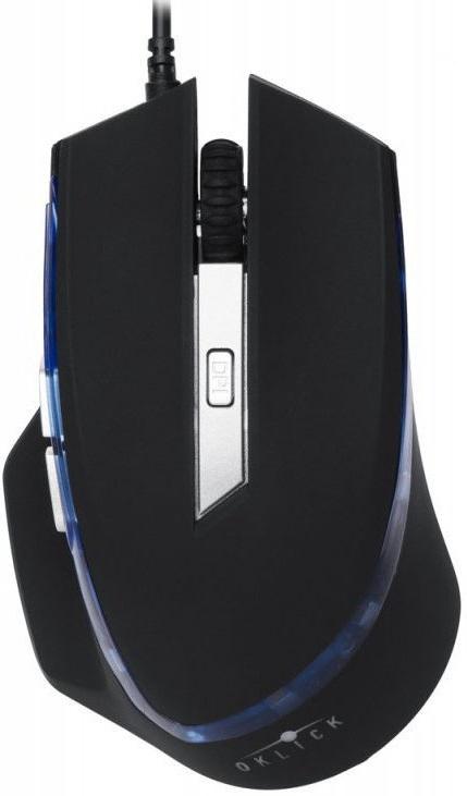 Мышь проводная Oklick 715G черный