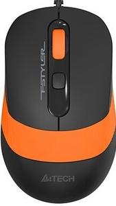 Мышь проводная A4Tech Fstyler FM10 оранжевый