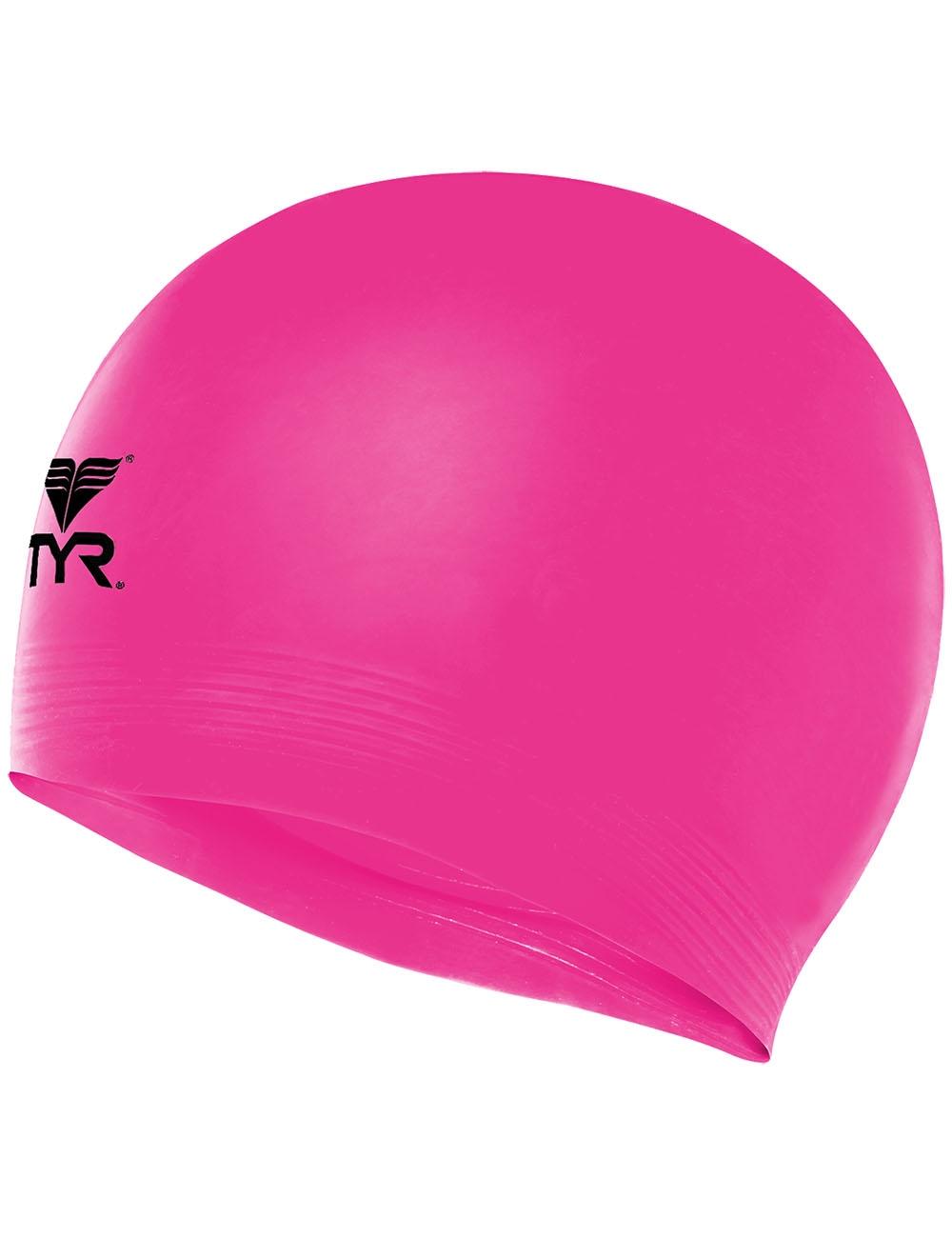 Шапочка плавательная Latex Swim Cap, латекс, LCL/670,  розовый