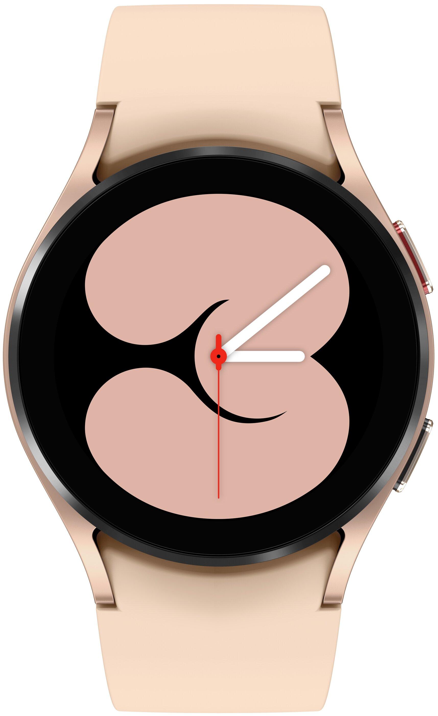Смарт-часы Samsung Galaxy Watch 4 40мм розовый