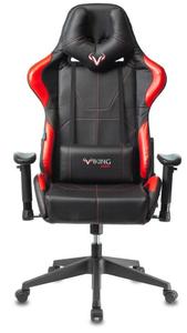 Кресло игровое Бюрократ Zombie VIKING 5 AERO красный
