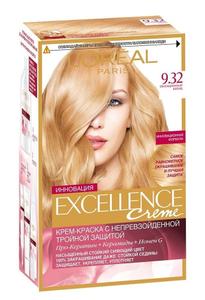 Крем-краска для волос Excellence 9.32 Сенсационный блонд L'Oreal Paris