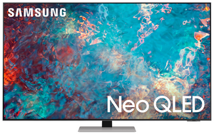 "Телевизор Samsung QE65QN85AAUXRU 65"" (165 см) серый"