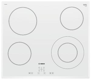 Электрическая варочная поверхность Bosch PKF652BB1E белый