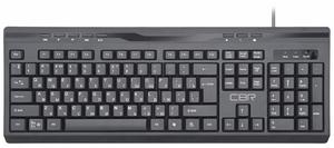 Клавиатура проводная CBR KB 335HM черный
