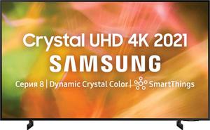 """Телевизор Samsung UE85AU8000UXRU 85"""" (215 см) черный"""