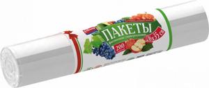 Пакеты для хранения продуктов фасовочные 26*35 200шт Avikomp