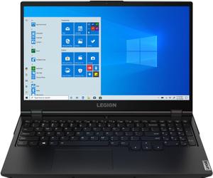 Ноутбук игровой Lenovo Legion 5 15ARH05 (82B5008JRU) черный