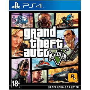 Игра на PS4  Grand Theft Auto V [PS4, русские субтитры]