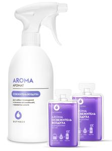 Комплект - спрей-ароматизатор воздуха AROMA (емкость 500мл + 2 капсулы) Duty Box