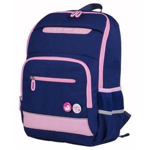 """Рюкзак Berlingo MONO """"Pinky"""" 40*28*15 см, 1 отделение, 4 кармана, эргономичная спинка"""