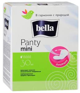 Прокладки ежедневные PANTY Мини 30шт Bella