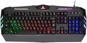 Клавиатура проводная Defender Werewolf GK-120DL черный