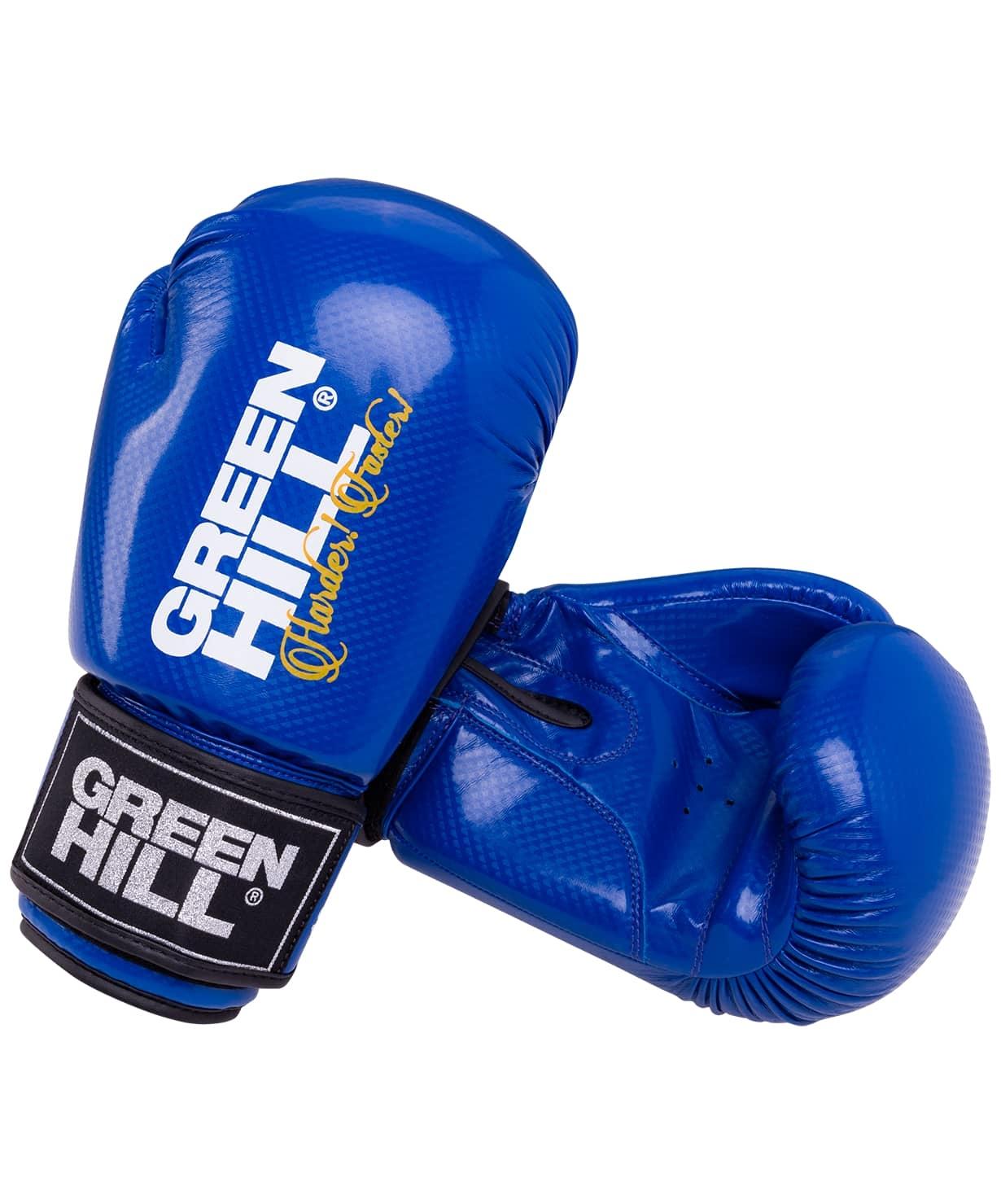 Перчатки боксерские Panther BGP-2098, 10 oz, синий