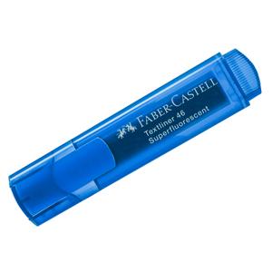 """Текстовыделитель Faber-Castell """"46 Superfluorescent"""" флуоресцентный синий, 1-5мм"""