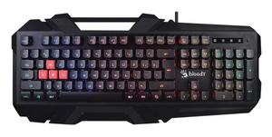 Клавиатура проводная A4Tech Bloody B150N черный