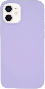 Чехол защитный «vlp» Silicone Сase для iPhone 12 mini, фиолетовый