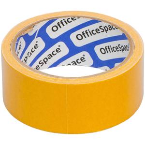 Клейкая лента двусторонняя OfficeSpace, 38мм*10м, полипропилен