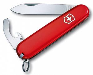 Нож перочинный Victorinox Bantam (0.2303) 84мм 8функций красный карт.коробка