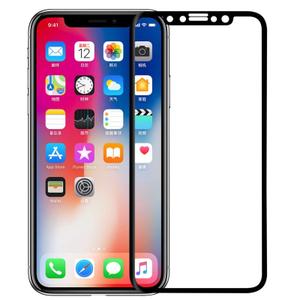 Стекло защитное 3D Breaking для iPhone X/XS/11 Pro (Black)