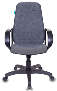 Кресло для руководителя Бюрократ CH-808AXSN/G серый