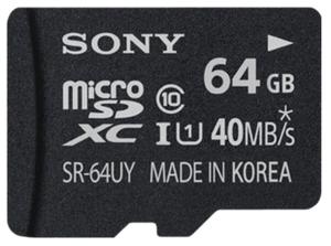 Карта памяти Sony SR64UY3AT 64 Гб