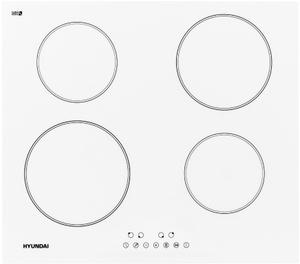 Индукционная варочная поверхность Hyundai HHI 6750 WG белый