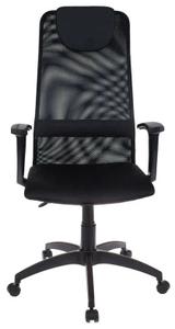 Кресло для руководителя Бюрократ KB-8 черный