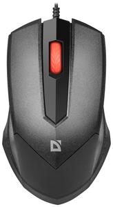 Мышь проводная Defender Expansion MB-753 черный
